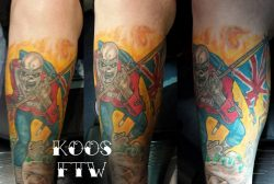 Iron Maiden Tatoeage – Koos Schouten