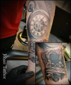 Clock Tattoo – Johan Schouten