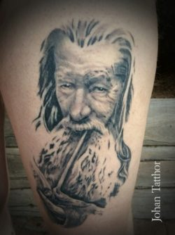Gandalf Tattoo – Johan Schouten