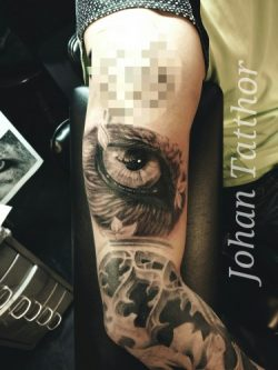 Eye Sleeve Tattoo – Johan Schouten